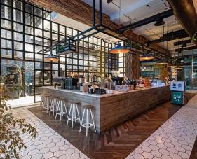Mẫu thiết kế quán cafe đẹp #1