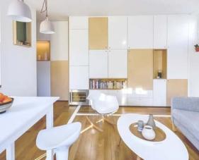 Những món đồ nội thất nhà nhỏ 30m2 đa năng đến ngỡ ngàng