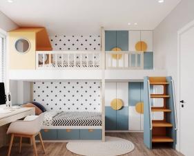 45 Ý tưởng tuyệt vời khi thiết kế nội thất phòng ngủ trẻ em