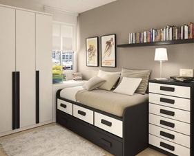 37 Mẫu nội thất thông minh cho phòng ngủ nhỏ