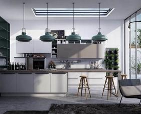 Top 30 ý tưởng thiết kế phòng bếp màu xám đầy sang trọng