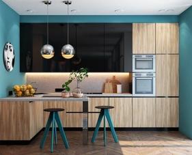 40 Thiết kế phòng bếp màu xanh dương đơn giản nhưng vô cùng nổi bật