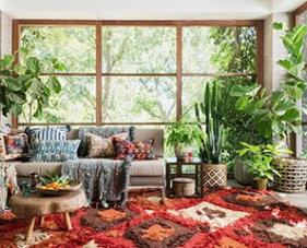 Phong cách Bohemian trong nội thất đẹp ngất ngây