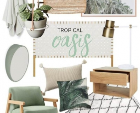 Phong cách nội thất Tropical là gì? Đặc điểm và cách trang trí