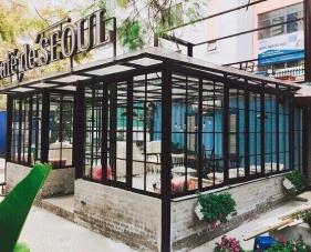 Thiết kế phong cách quán cafe theo xu hướng Hàn Quốc