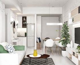 15 Ý tưởng thiết kế phòng khách kết hợp bếp cho nhà nhỏ được yêu thích nhất