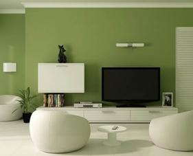 24 Gợi ý hoàn hảo cho phòng khách màu xanh lá cây của bạn