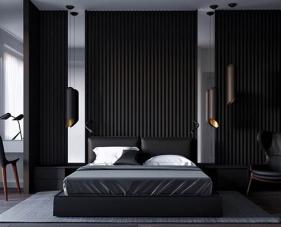 Top 50 phòng ngủ màu đen lịch lãm với từng đường nét tinh tế