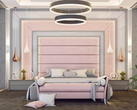 40 Ý tưởng thiết kế phòng ngủ màu hồng siêu lung linh dành cho các nàng