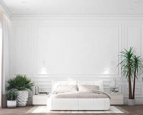 30 Mẫu thiết kế phòng ngủ màu trắng trang nhã và thanh lịch