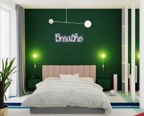 Gợi ý cho bạn 30 mẫu phòng ngủ màu xanh lá cây đẹp mắt nhất