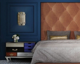Top 30 mẫu thiết kế phòng ngủ màu xanh navy dẫn đầu xu hướng 2020