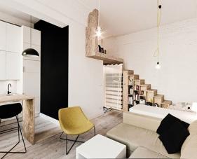 Thiết kế căn hộ 33m2 nhưng vẫn tiện nghi và thoải mái