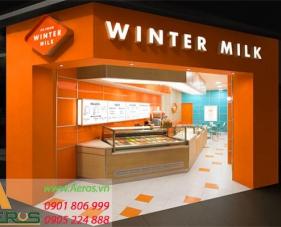 Top 10 mẫu thiết kế cửa hàng bán sữa hút khách nhất