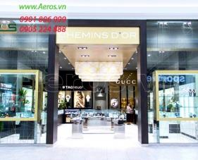 Thiết kế cửa hàng đồng hồ Chemin Dors - quận 3