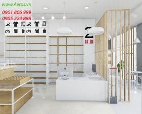 Thiết kế cửa hàng Lọ Lem Shop - Bạc Liêu