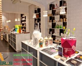 Top 10 mẫu thiết kế cửa hàng make up đẹp nhất