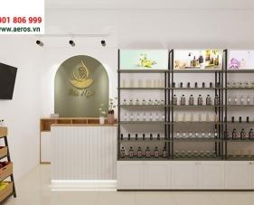 Thiết kế cửa hàng tinh dầu Bảo Ngọc - Quận 2