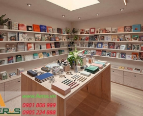Top 10 mẫu thiết kế cửa hàng văn phòng phẩm đẹp và hiện đại nhất