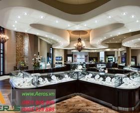 Top 10 mẫu thiết kế cửa hàng vàng bạc đẹp và sang trọng nhất