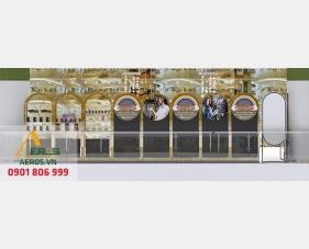 Thiết kế gian hàng trang sức tại trung tâm thương mại Gagi Mall - Thủ Đức