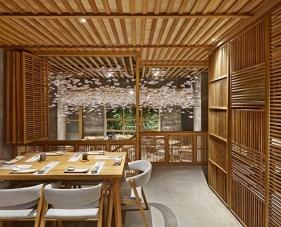 20 Mẫu thiết kế nhà hàng sushi theo phong cách Nhật Bản