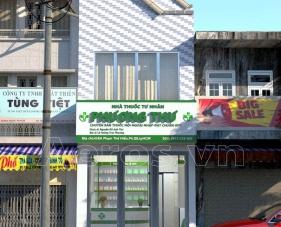 Thiết kế nhà thuốc tây Phương Thư -  Quận 8, TPHCM