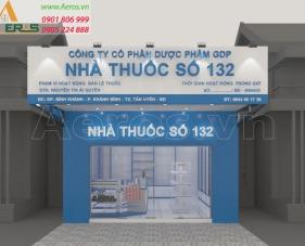 Thiết kế nhà thuốc tây số 132, Tân Uyên - Bình Dương