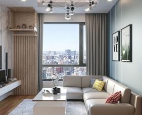 Cập nhật các xu hướng thiết kế nội thất căn hộ 65m2 mới nhất 2019