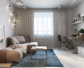 Thiết kế nội thất căn hộ 67m2 này sẽ khiến bạn phải bất ngờ