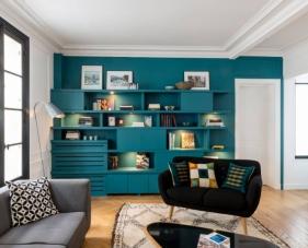 Thiết kế nội thất căn hộ chung cư 1 phòng ngủ được nhiều người yêu thích