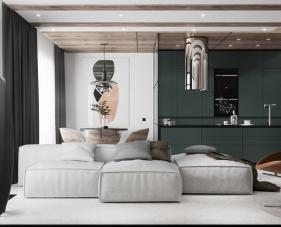 3 Mẫu thiết kế nội thất căn hộ chung cư 72m2 độc đáo nhất