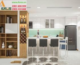 Thiết kế nội thất chung cư Sarimi - Căn hộ anh Triệu Quận 2