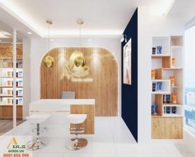 Thiết kế nội thất cửa hàng mỹ phẩm An - quận 7