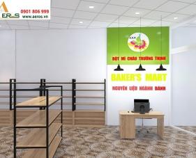 Thiết kế nội thất cửa hàng phụ liệu bánh Baker\'s Mart - Bình Dương
