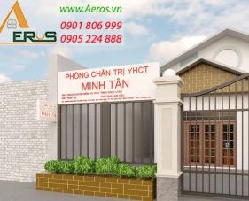 Thiết kế nội thất nhà thuốc đông y Minh Tân - Bình Dương