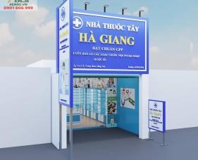 Thiết kế nội thất nhà thuốc Hà Giang - Đồng Nai