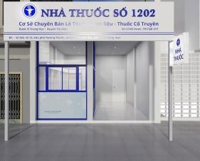 Thiết kế nội thất nhà thuốc tây số 1202 - Đồng Nai