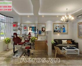 Thiết kế nội thất phòng khám nha khoa Ninh Lan - Quận 9