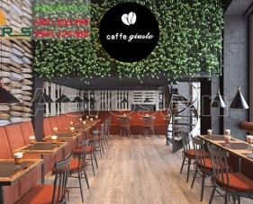 Thiết kế nội thất quán cafe Giusto - quận Phú Nhuận