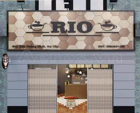 Thiết kế nội thất quán cafe Rio - Gò Vấp