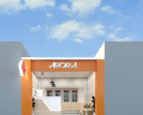 Thiết kế nội thất quán trà sữa Arora - Hóc Môn