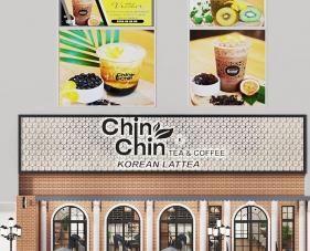 Thiết kế nội thất quán trà sữa Chin Chin - Vũng Tàu