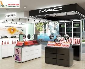 Thiết kế nội thất shop mỹ phẩm của anh Lâm tại Bình Dương