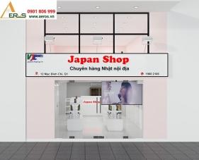 Thiết kế nội thất shop mỹ phẩm Japan - Quận 1