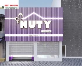Thiết kế nội thất shop mỹ phẩm Nuty Cosmetic - Hà Nội