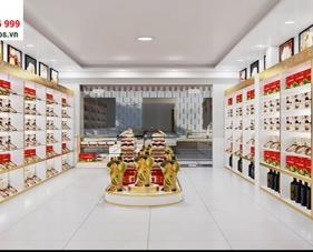 Thiết kế nội thất shop sâm yến Hoàng Kiệt - Hóc Môn