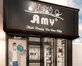 Thiết kế nội thất shop túi xách Amy - Thủ Đức