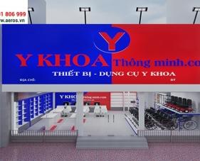 Thiết kế nội thất showroom Thiết Bị Y Khoa - Đồng Nai