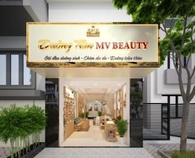 Thiết kế nội thất spa Dưỡng Tâm MV Beauty - quận Bình Tân